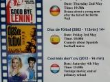 EUROPE WEEK FILM FESTIVAL 2-4MAY